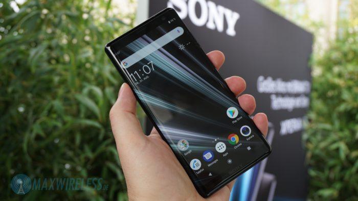 Das Sony Xperia XZ3.