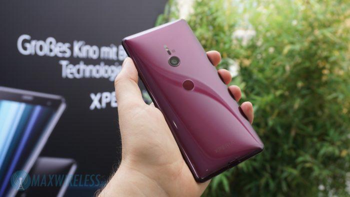 Rückseite des Sony Xperia XZ3.