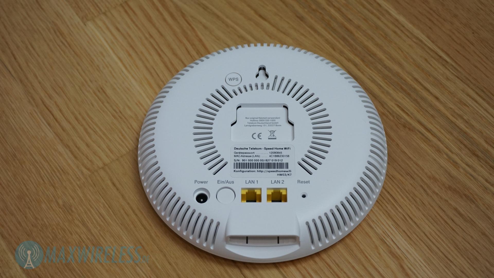 Test: Telekom Speed Home WiFi mit Speedport Smart 8  maxwireless.de