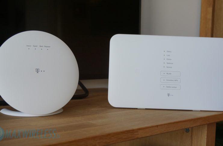 Telekom Speed Home WiFi (links) und Telekom Speedport Smart 3 (rechts).