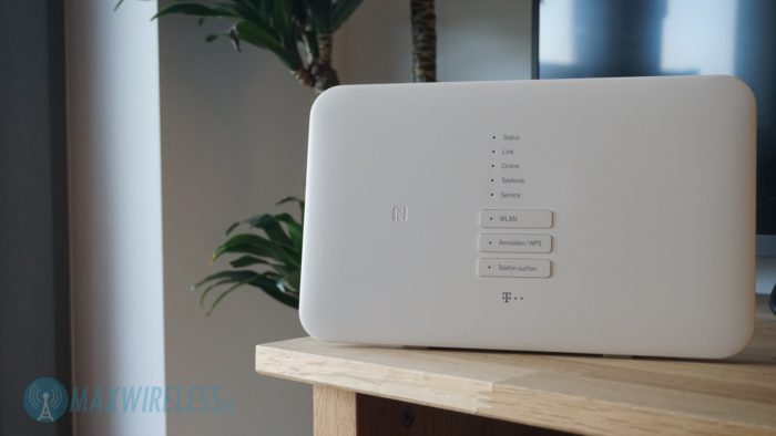 Der Telekom Speedport Smart 3 Router.