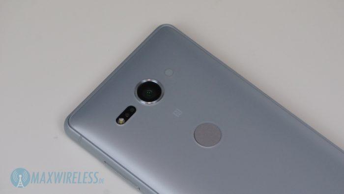 Kamera des Sony Xperia XZ2 compact. Bild: maxwireless.de.