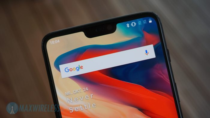 Display beim OnePlus 6.