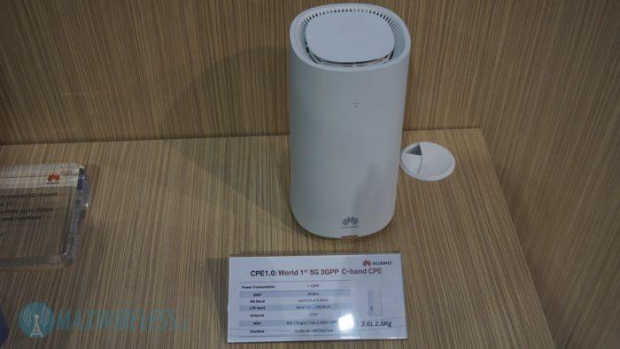 Huawei 5G C-Band Router (CPE). Bild: maxwireless.de.