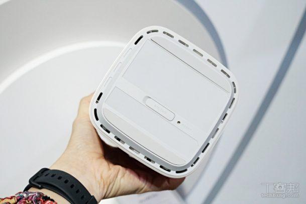 Huawei 5G CPE Pro Unterseite. Bild: techbang.com.