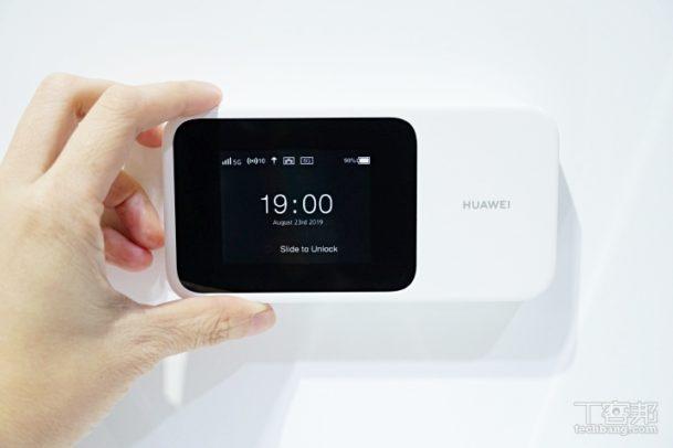Huawei 5G Mobile Hotspot Router. Bild: techbang.com.