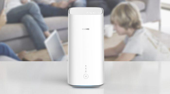 Huawei 5G Router. Bild: Huawei.