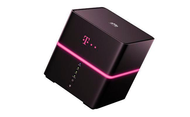 Der Telekom Speedbox Router vom Typ Huawei B529s-23a.