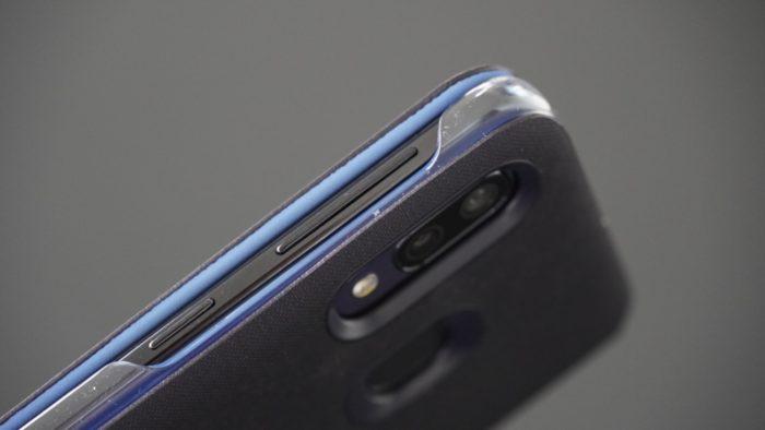 Galaxy A40 Wallet Cover Tasten