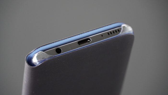 Galaxy A40 Case Unterseite