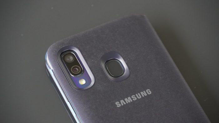Samsung Galaxy A40 Case Rueckseite