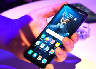Das Honor 20 Smartphone