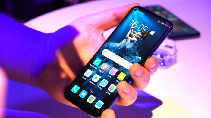 Das Honor 20 Smartphone