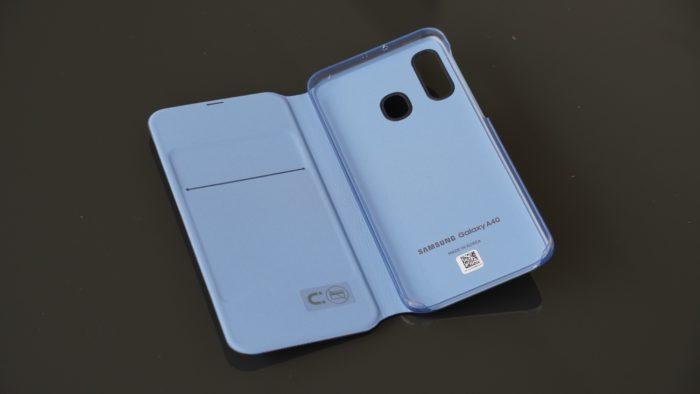 Samsung Galaxy A40 Case Innenseite