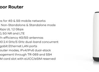Technische Daten zum Zyxel NR5101