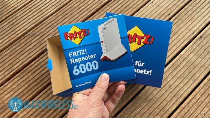 Anleitung zum AVM FRITZ!Repeater 6000.