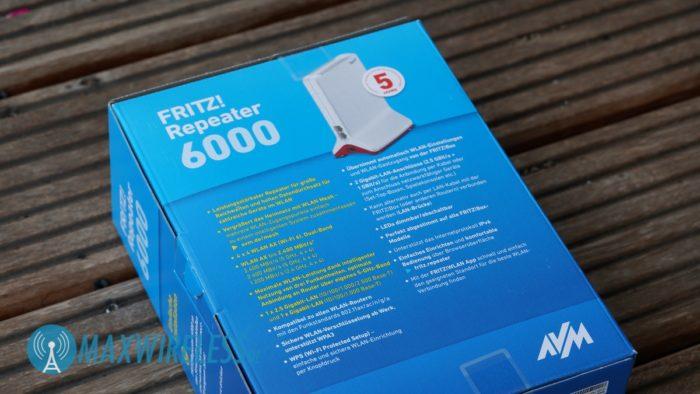 Technische Daten zum AVM FRITZ!Repeater 6000.